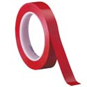 Red 3M 471 1/2 in x 36 yd Vinyl Tape-3p