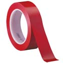 Red 3M 471 1 in x 36 yd Vinyl Tape-3p