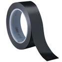 Black 3M 471 1 in x 36 yd Vinyl Tape-3p