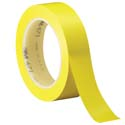 Yellow 3M 471 1 in x 36 yd Vinyl Tape-3p