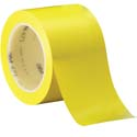 Yellow 3M 471 3 in x 36 yd Vinyl Tape