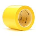 Yellow 3M 471 4 in x 36 yd Vinyl Tape