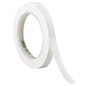 White 3M 471 1/4 in x 36 yd Vinyl Tape-3p
