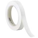 White 3M 471 1/2 in x 36 yd Vinyl Tape-3p