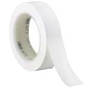 White 3M 471 1 in x 36 yd Vinyl Tape