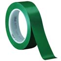 Green 3M 471 1 in x 36 yd Vinyl Tape-3p