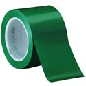 Green 3M 471 3 in x 36 yd Vinyl Tape-3p