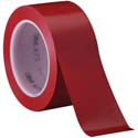 Red 3M 471 2 in x 36 yd Vinyl Tape-3p