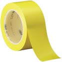 Yellow 3M 471 2 in x 36 yd Vinyl Tape-3p