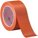 Orange 3M 471 2 in x 36 yd Vinyl Tape-3p