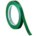 Green 3M 471 1/4 in x 36 yd Vinyl Tape-3p