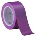 Purple 3M 471 2 in x 36 yd Vinyl Tape