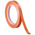 Orange 3M 471 1/4 in x 36 yd Vinyl Tape-3p