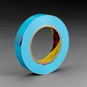 Scotch Film Strapping Tape - 12 mm x 55 m 4.6 mil - 72/case