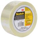 Sctch Bi-Direction Filament Tape - 75 mm x 50 m 5.7 mil - 12/case
