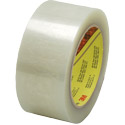 3M 355 Scotch Clear Box Sealing Tape, 2 in x 55 Yard