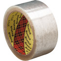 Scotch Box Sealing Tape 371 Clear, 2 in x 55 yards