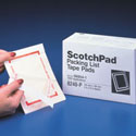3M 8240P Scotch Packing List 5x6 Tape Pad