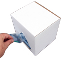 7 x 8 1 Quart Storage Freezer Bag 2.7 Mil ColorZip Reclosable Food Service MiniGrip Dispensing