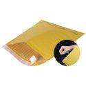6 in x 10 in (#0) Self Seal Kraft Bubble Mailer