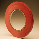3/8 in x 180 yd Red Bag Tape