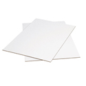 48 in x 96 in White Corrugated Sheet