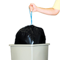 32 Gallon Black Drawstring Trash Bags