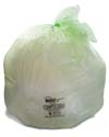 64 Gallon Green Eco Friendly Trash Bags