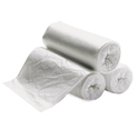 8-10 Gallon Natural High Density Trash Bags