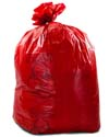 20-30 Gallon Red Medical Waste Trash Bags