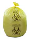20-30 Gallon Yellow Infectious Linen Trash Bags