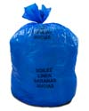 20-30 Gallon Blue Soiled Linens Bags