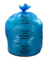 44 Gallon Blue Soiled Linens Bags