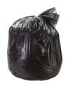 60 Gallon Black Regular Duty Trash Bags