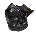 40-45 Gallon Black Regular Duty Trash Bags