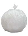 7 Gallon Clear Regular Duty Trash Bags
