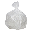 33 Gallon Clear Regular Duty Trash Bags