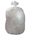 60 Gallon Clear Regular Duty Trash Bags