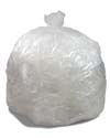 40-45 Gallon Clear Regular Duty Trash Bags