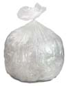 33 Gallon Clear Heavy Duty Trash Bags