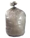 60 Gallon Gray Heavy Duty Trash Bags