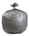 40-45 Gallon Gray Heavy Duty Trash Bags
