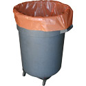 56 Gallon Orange Heavy Duty Trash Bags