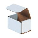 3 in x 2 in x 2 in White Corrugated Mailers