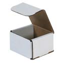3 in x 3 in x 2 in White Corrugated Mailers