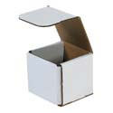 3 in x 3 in x 3 in White Corrugated Mailers