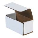4 in x 2 in x 2 in White Corrugated Mailers
