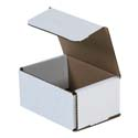 4 in x 3 in x 2 in White Corrugated Mailers