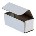 5 in x 2 in x 2 in White Corrugated Mailers
