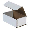 5 in x 3 in x 2 in White Corrugated Mailers